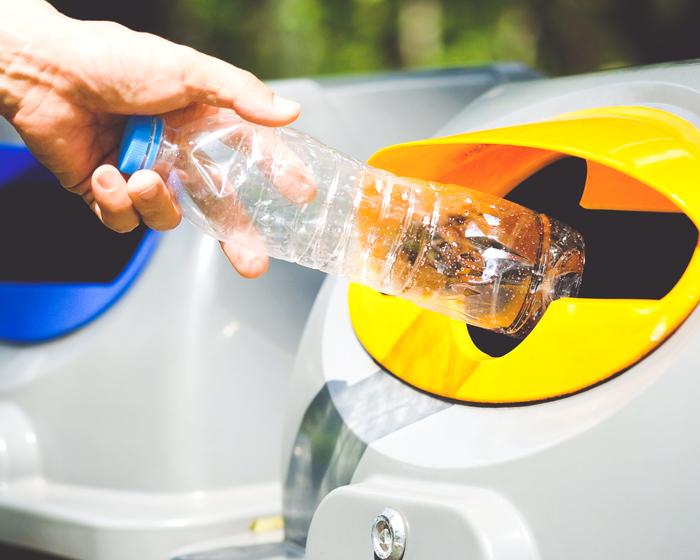 Botella 100% reciclaje